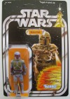 """Star Wars"" Boba Fett on Gauntlet Firing Cardback with Text (1978)"