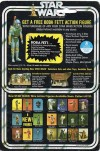 """Free Boba Fett"" Card Back of ""Star Wars"" Greedo Figure (1978)"