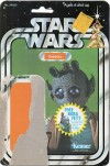 """Free Boba Fett"" Card Front of ""Star Wars"" Greedo Figure (1978)"