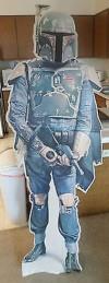 Boba Fett Cardboard Standee (1980)