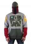 Boba Fett Hoodie with Embroidery Details, Front