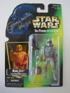 Boba Fett Action Figure, Green Card (1997)