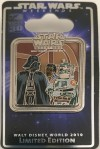 Star Wars Weekends: Darth Vader, Lando Calrissian, and Boba Fett Pin (2010)