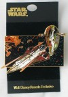 Disney Jedi Starfighter / Slave I Pin (2002)