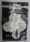 Kenner Large Boba Fett Action Figure, Instructions Front (1979/1980)
