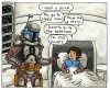 """Goodnight Darth Vader,"" Jango Fett Panel"