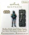 Hallmark Boba Fett and Han Solo Ornaments (2010)