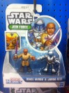 Playskool Heroes Jedi Force Mace Windu and Jango Fett (2014)
