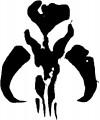 Boba Fett's Shoulder Emblem, Mythosaur Skull