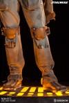 Sideshow Boba Fett Life-Size Figure, Leg Detail