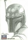 Topps Star Wars Galaxy 7, Sketch Card, Hayden Davis (2012)
