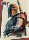 Topps Star Wars Galaxy Just Toys Bend-Em Cards #M Boba Fett (1993)