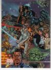 Topps Star Wars Galaxy 3 #359 J. Scott Campbell / Alex Garner (1995)