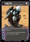 TCG Jedi Guardians #16 Jango Fett