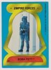 Topps The Empire Strikes Back Series 2 Sticker #57 Boba Fett - Empire Forces (1980)