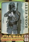 Topps Metallic Impressions Bounty Hunters #1 Boba Fett (1998)
