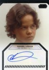 Topps Star Wars Galactic Files Daniel Logan as Boba Fett Autograph Card (2012)