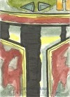 Star Wars Galactic Files Sketch Card Jeremy R. Scott (2012)