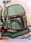 Topps Star Wars Galactic Files Sketch Card, Kimberly Dunaway (2012)