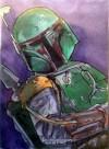 Topps Star Wars Galactic Files Sketch Card, Rachel Kaiser (2010)
