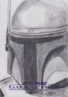 Star Wars Galactic Files 2 Sketch Card Brett Farr (2013)