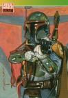 Topps Star Wars Galaxy 1 #127 Boba Fett (1993)