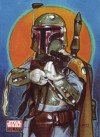 Topps Star Wars Galaxy 4 Randy Martinez (Sketch) (2009)