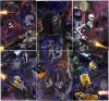 Topps Star Wars Galaxy 6 6-Part Etched Foil Puzzle (2011)