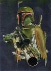 Topps Star Wars Galaxy 6 #9 Boba Fett (Foil) (2011)