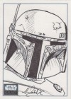 Star Wars Galaxy 6 Sketch Card, Alex Buechel (2011)