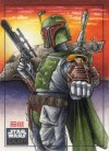 Star Wars Galaxy 6 Sketch Card, Erik Maell (2011)