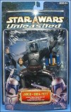 Unleashed Jango & Boba Fett, Carded (2002)