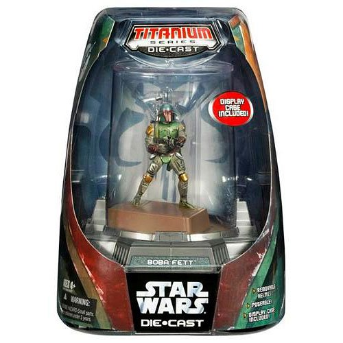 Titanium Series Boba Fett (Painted, 2005)