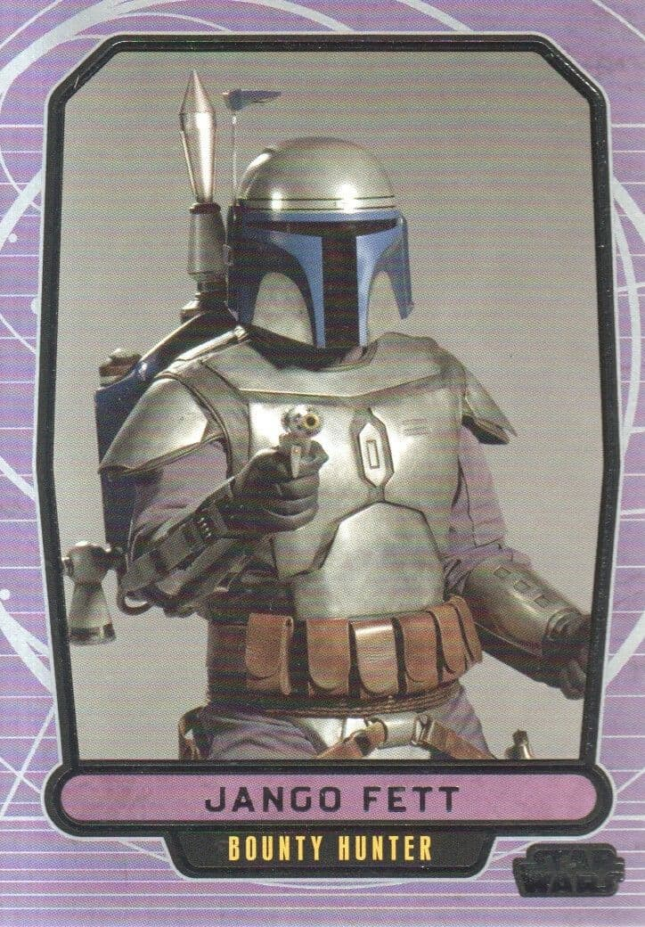 Topps Star Wars Galactic Files #40 Jango Fett (2012)