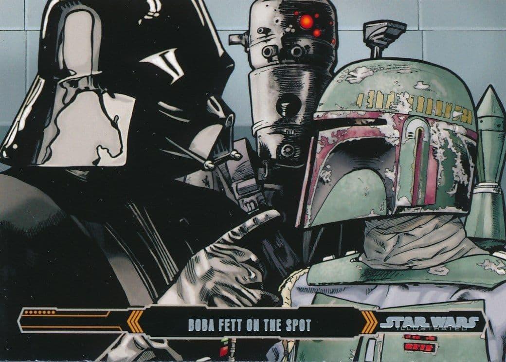 Topps Star Wars Illustrated: The Empire Strikes Back #63 Boba Fett on the Spot (2015)