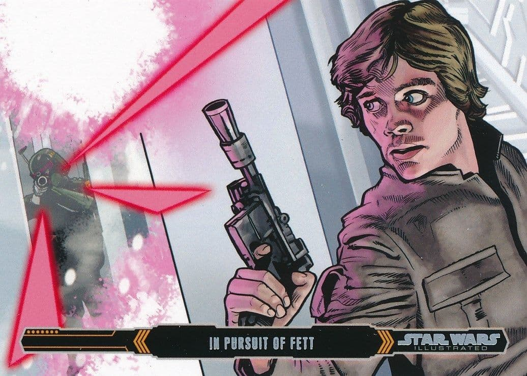 Topps Star Wars Illustrated: The Empire Strikes Back #83 In Pursuit of Fett (2015)