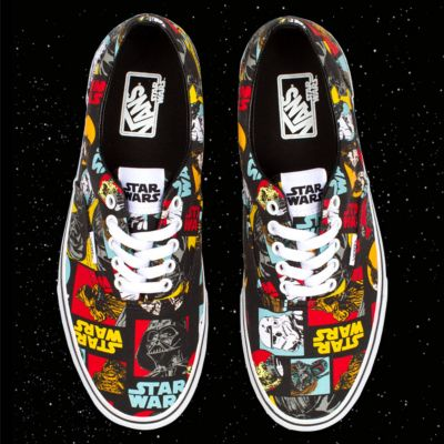 vans era star wars character skate shoe