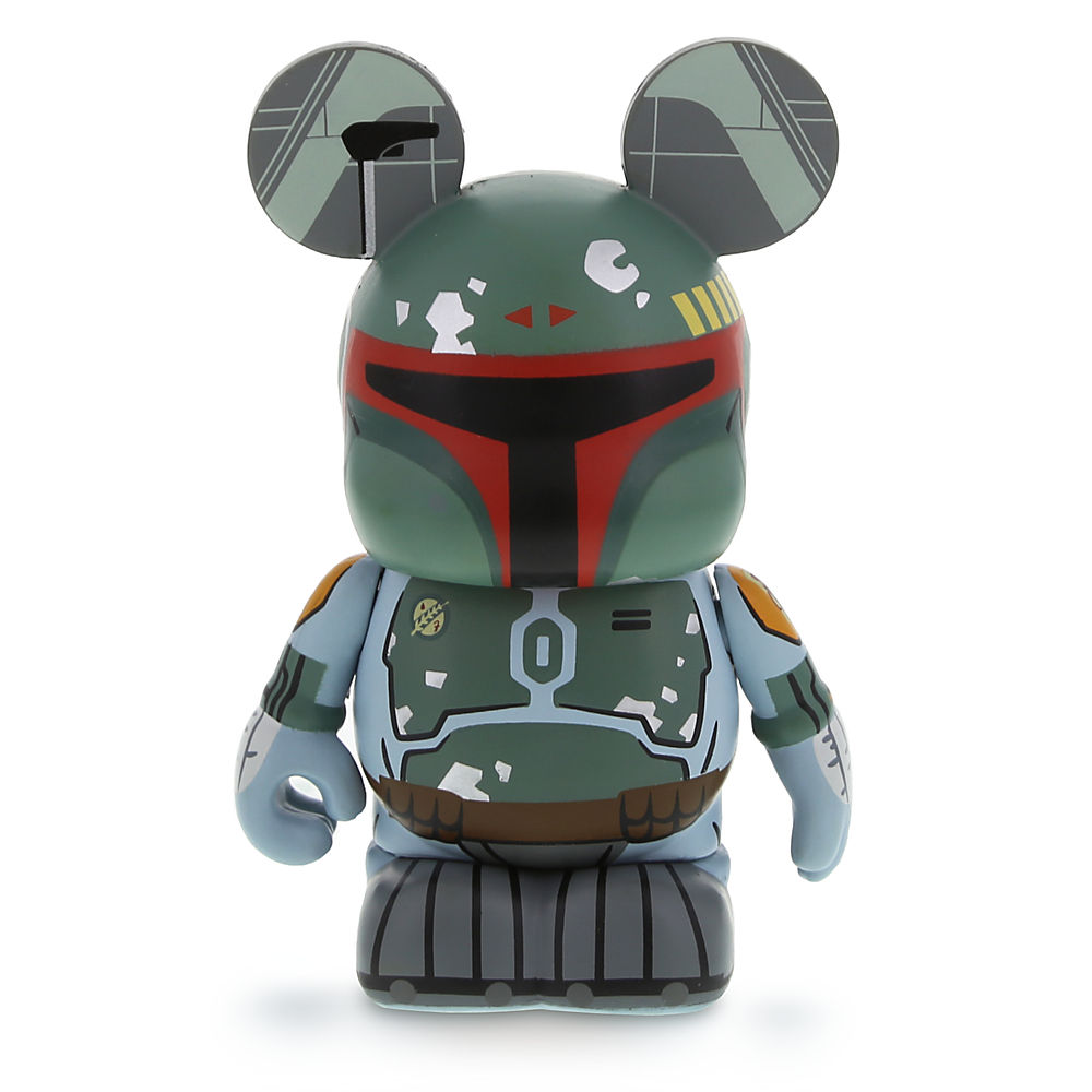 "Vinylmation Star Wars 4 Series Boba Fett Combo Pack, ""Classic"" Figure (""Empire""), Front (2014)"