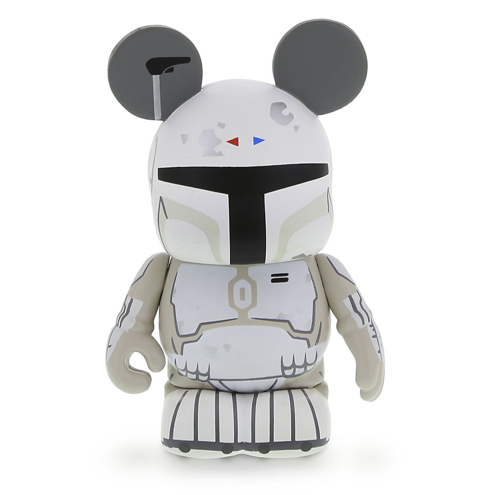 "Vinylmation Star Wars 4 Series Boba Fett Combo Pack, ""Concept"" Figure, Front (2014)"