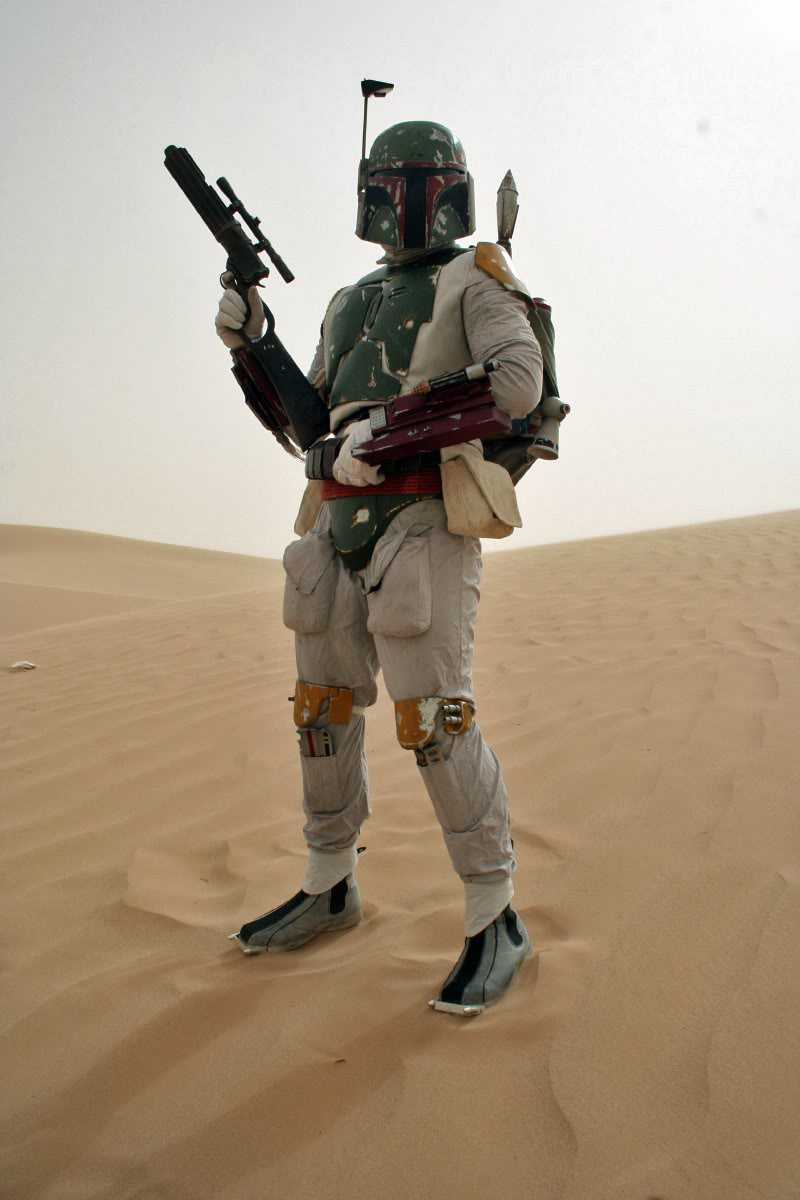 Scott Chana as Boba Fett