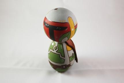 Kokeshi Boba Fett Doll