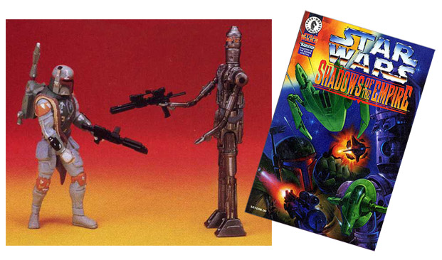 Boba Fett vs. IG-88 Action Figure Set (1996)