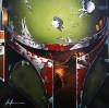Boba Fett Giclee by Christian Waggoner