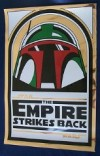 Boba Fett Mylar Poster (Gold Version)