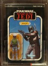 """Return of the Jedi"" Boba Fett with Blue Background Cardback (1983)"