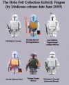 The Boba Fett Collection Kubrick Toys