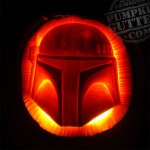 Fett pumpkin by PumpkinGutter.com