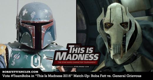Boba Fett vs. General Grievous Banner #1