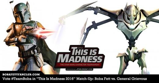 Boba Fett vs. General Grievous Banner #2