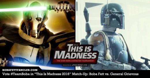 Boba Fett vs. General Grievous Banner #3